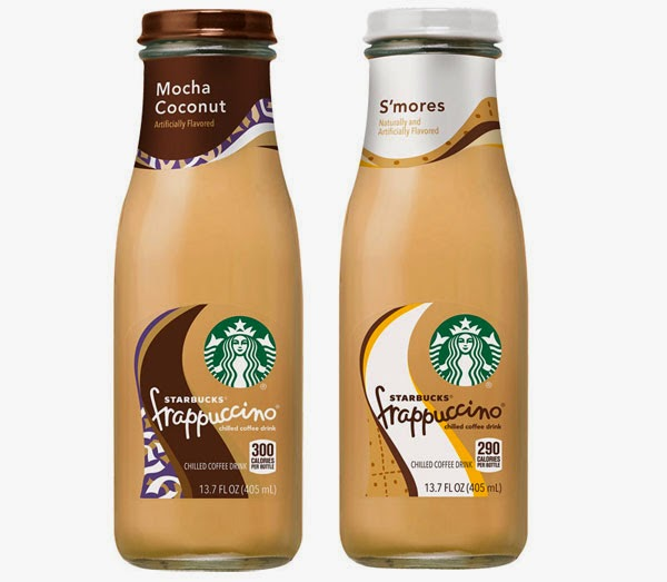 Starbucks Now Making S'mores Frappuccino bottle