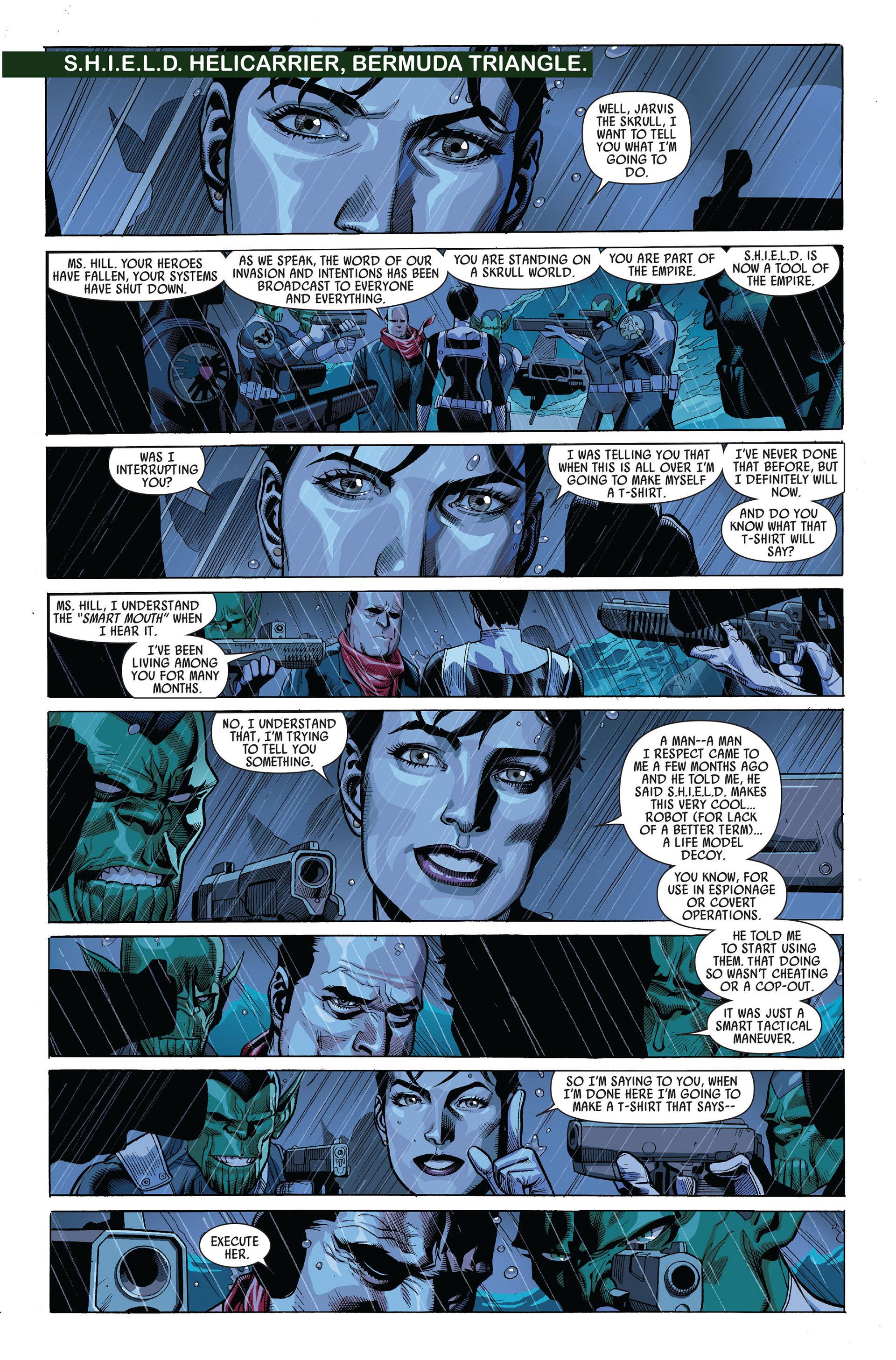 Read online Secret Invasion comic -  Issue #5 - 12