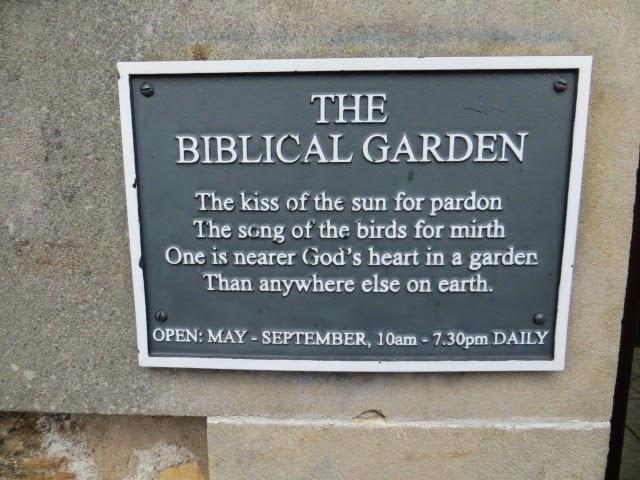 North west images elgin biblical gardens for Garden design bible