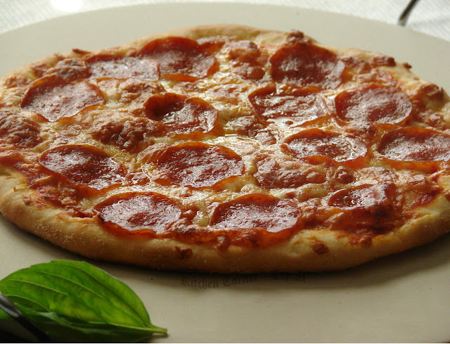 Kitchen Corner-Try It: New York Style Pepperoni Pizza~ Baking Partners ...