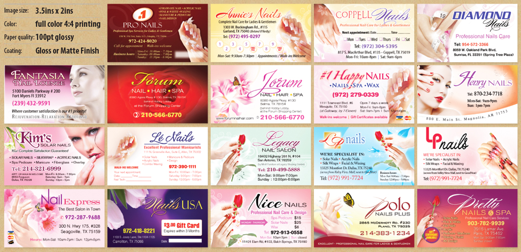 Manicure Gift Card Ideas