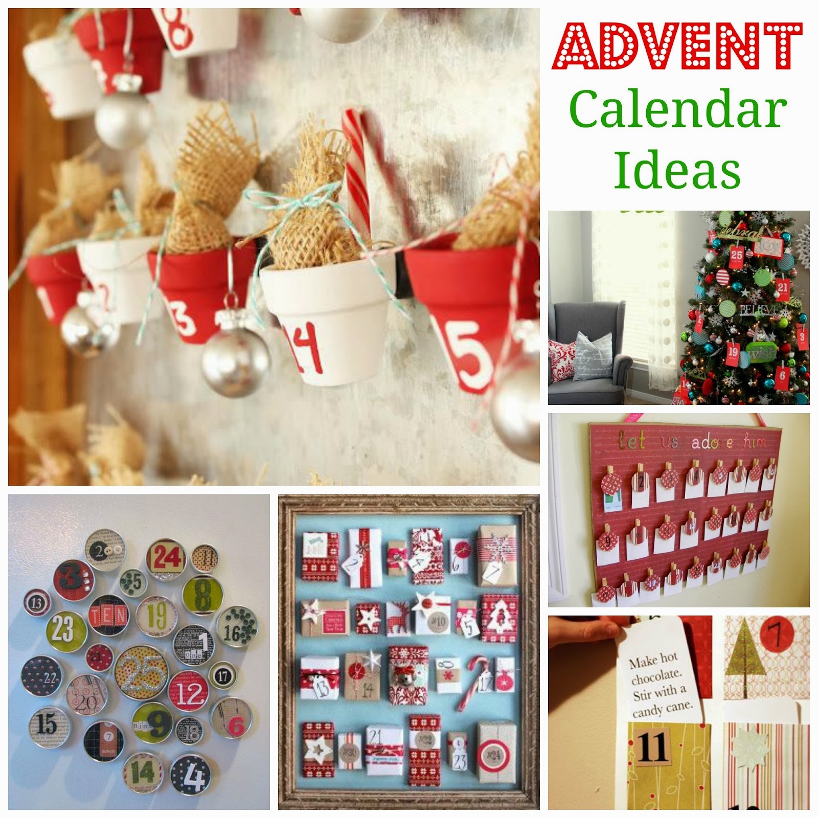Xmas Calendar Ideas : It s my wonderful chaotic life christmas advent calendar