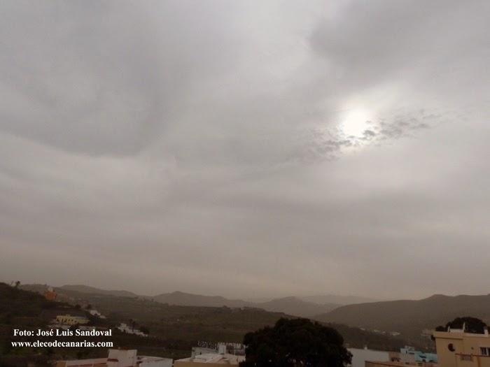 Calima Gran Canaria diciembre 2014