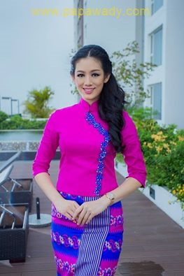 Celebrity of The Week - 15 Pictures of Khin Wai Phyo Han in Myanmar