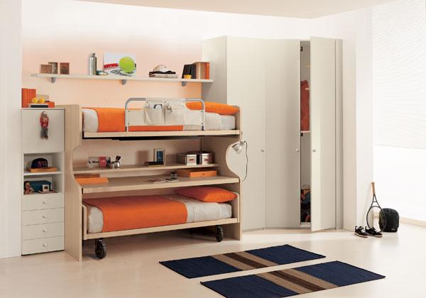 Bonetti camerette bonetti bedrooms camerette doppie - Camerette per bambini piccoli ...