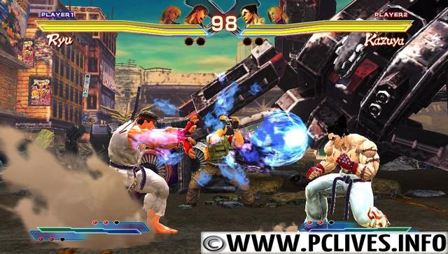 full and free pc games Street Fighter X Tekken full version