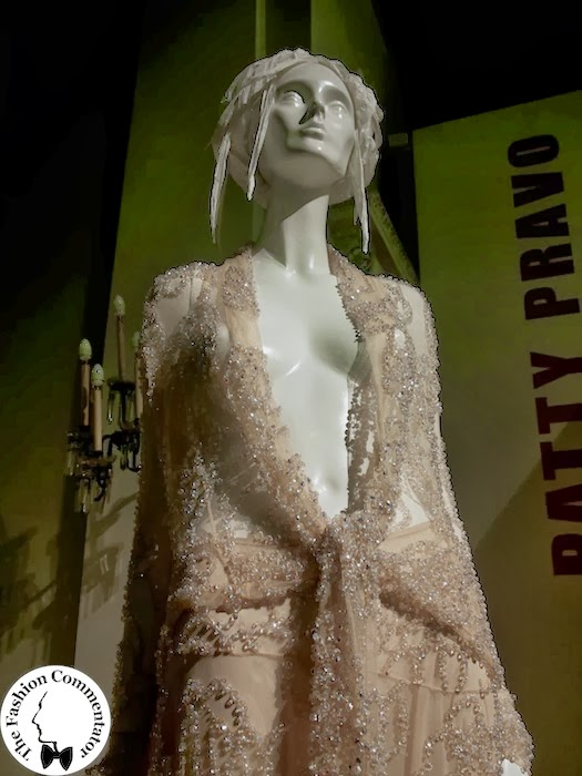 Donne protagoniste del Novecento - Patty Pravo - Roberto Cavallli dress for Sanremo 2002 - Galleria del Costume Firenze