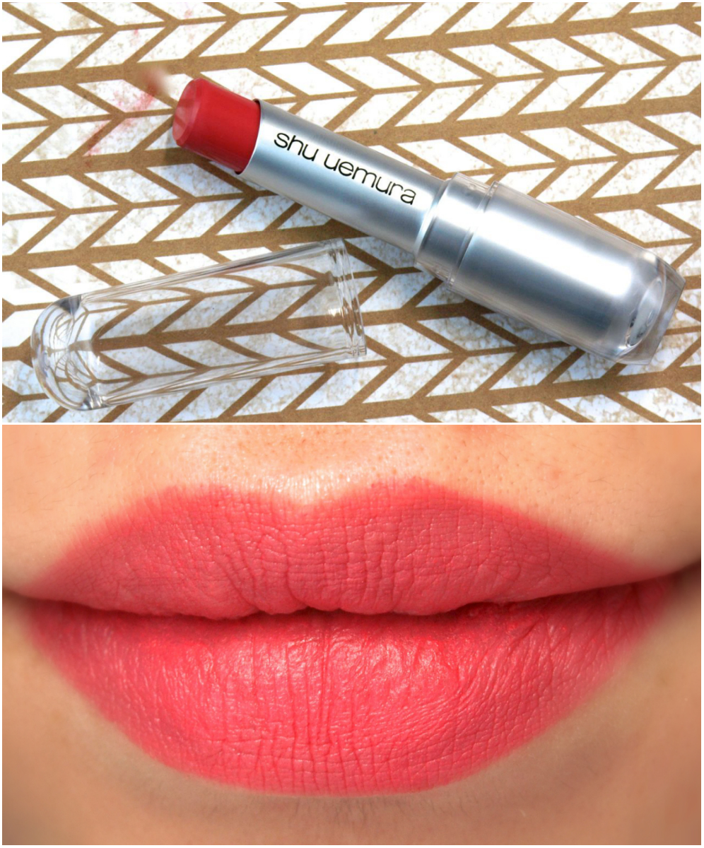 Shu Uemura Rouge Unlimited Lipstick My Dear Matte Collection: Review and Swatches