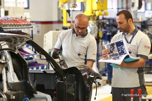 Alfa Romeo 4C Maserati Factory Workers