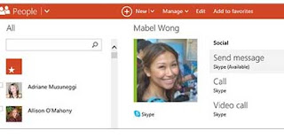 correo outlook contactos skype