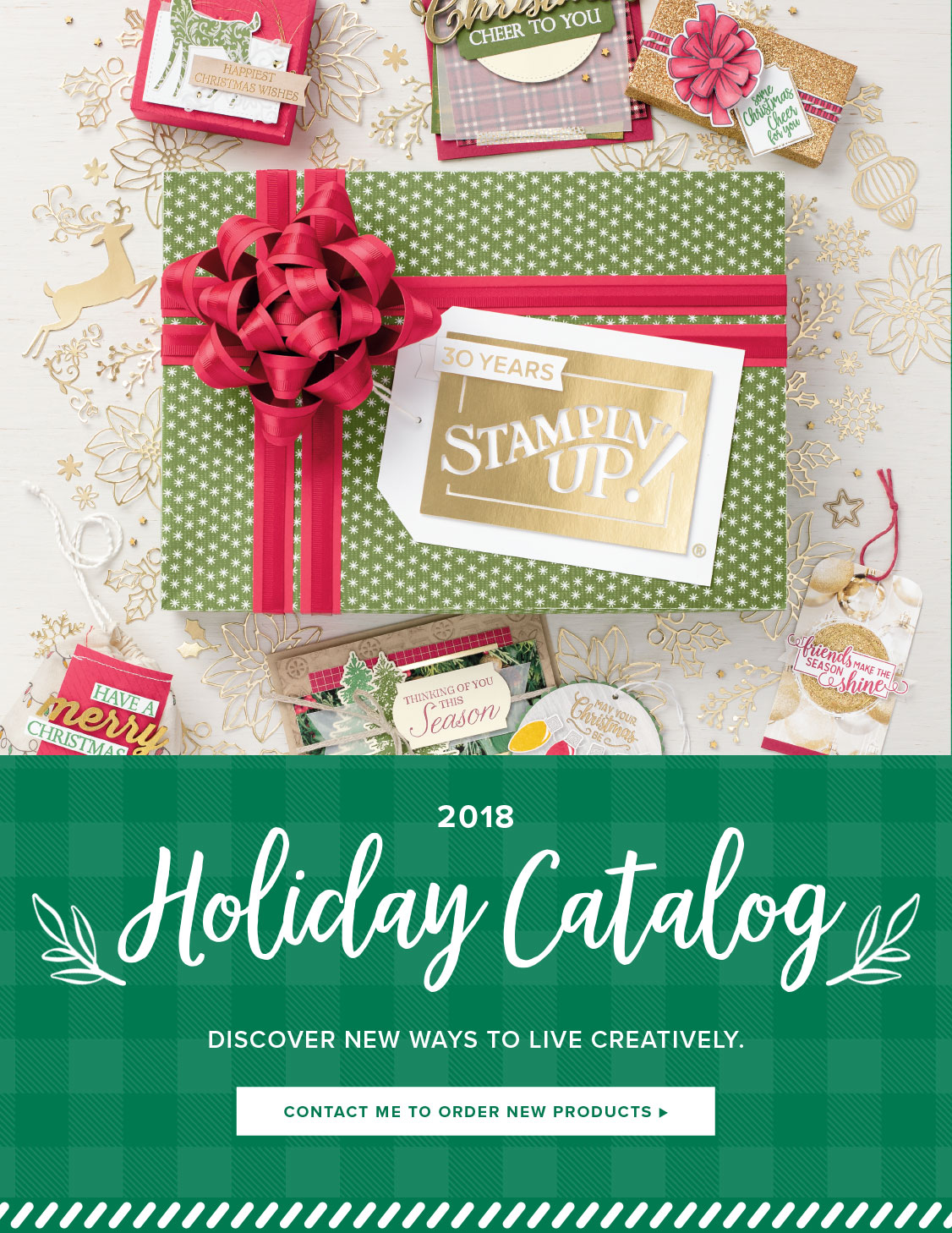 The Holiday Catalogue begins September 5th!