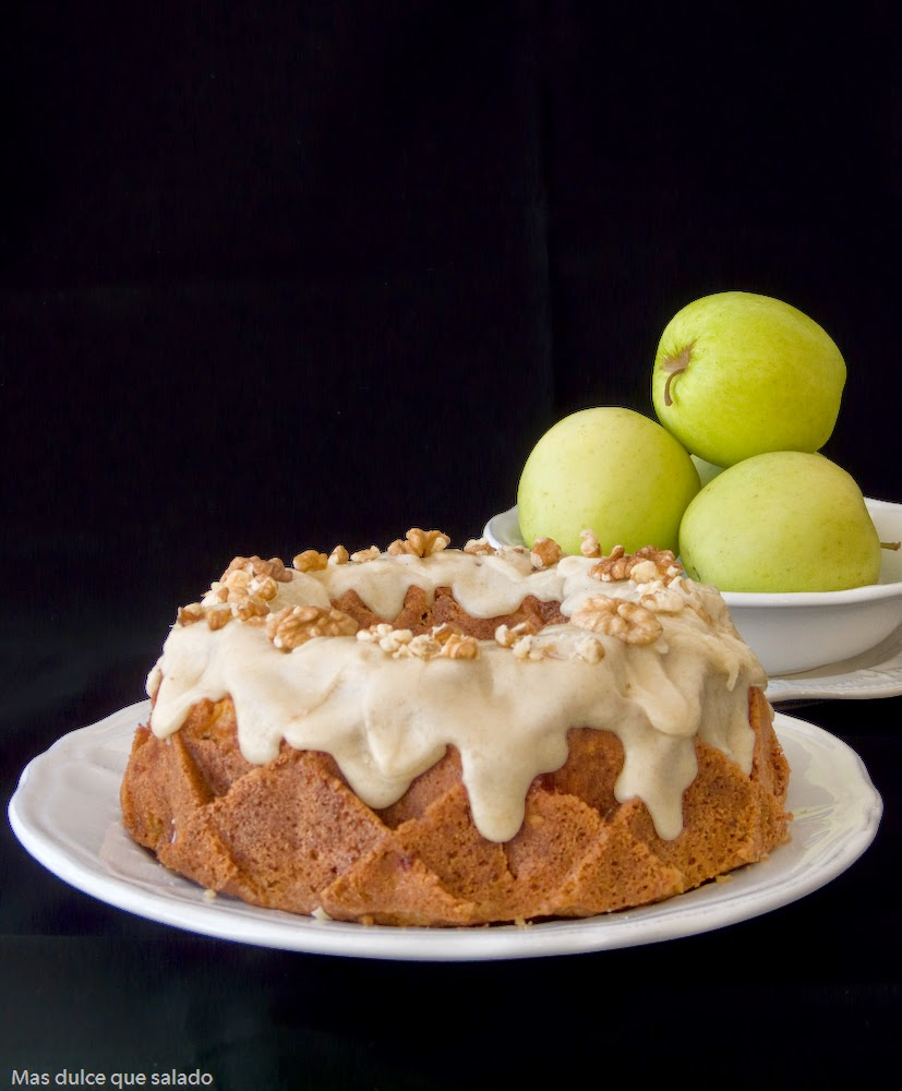 Caramel Apple Bundt Cake - blogs de Blogs de recetas y cocina