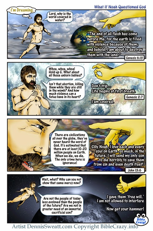 Noah religious cartoon