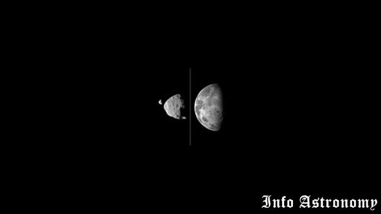 Curiosity Berhasil Merekam 2 Bulan milik Mars