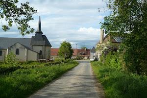 un village au milieu des champs