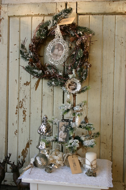 lovely vintage skandinavischer weihnachtsbaum shabby. Black Bedroom Furniture Sets. Home Design Ideas
