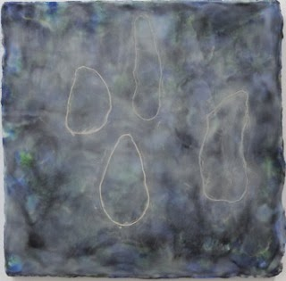 new encaustic painting