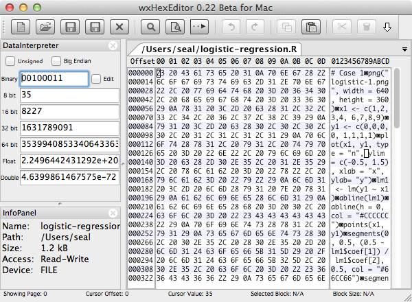 wxHexEditor 十六進位編輯器