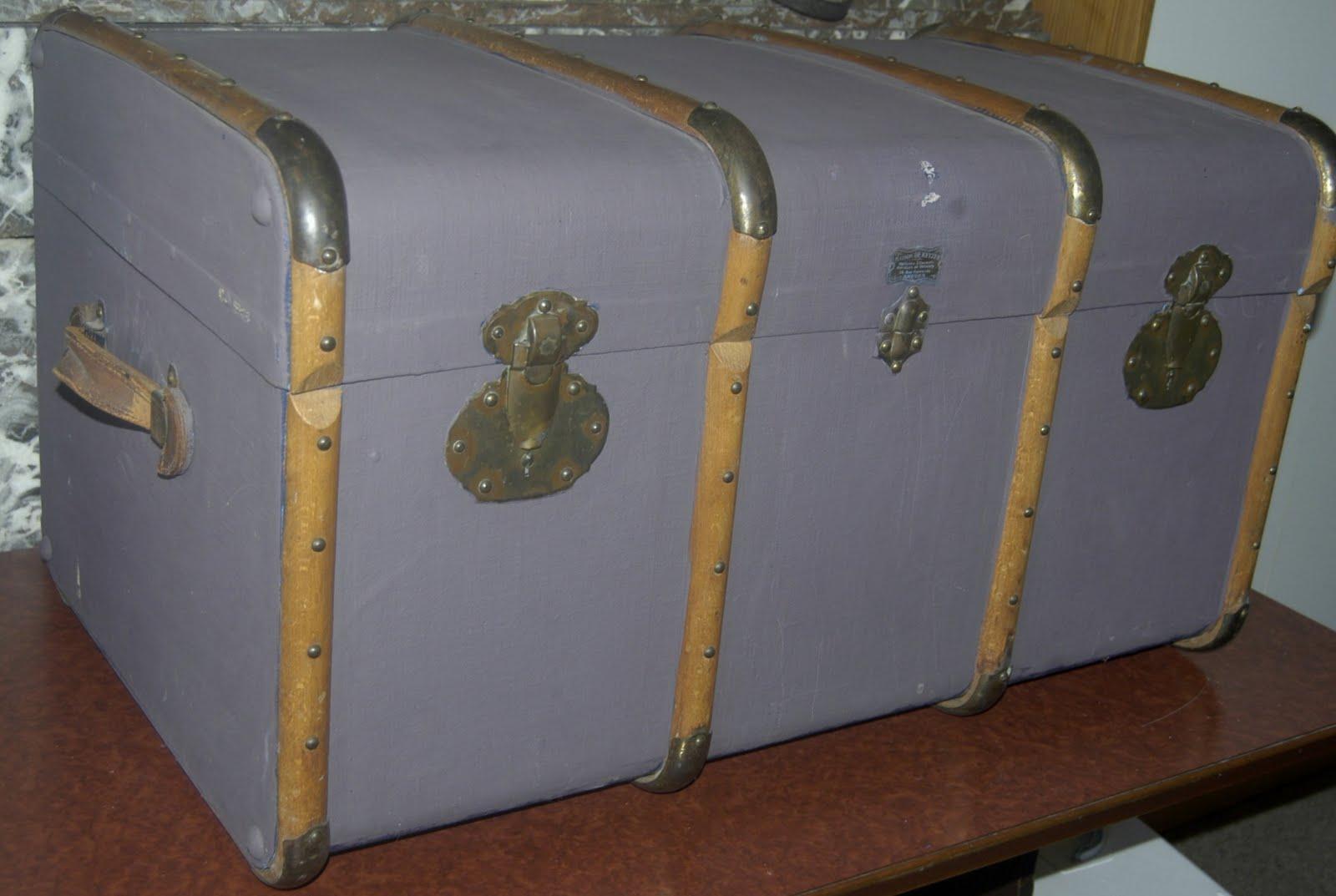 Bric brol les malles anciennes - Vieille malle de voyage ...