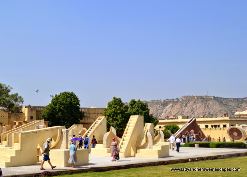 Jantar Mantar in Jaipur India