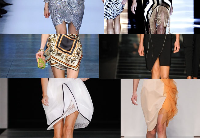 A matter of style: diy fashion: diy idea: wavy hems