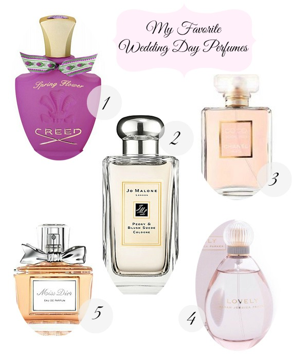 What Will Your Wedding Scent Be