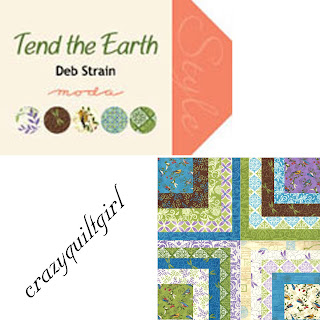 Moda TEND THE EARTH Quilt Fabric by Deb Strain