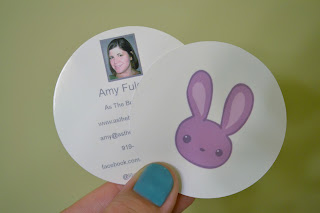 BlogHer, Business Cards, Round, UPrinting, Cute, 