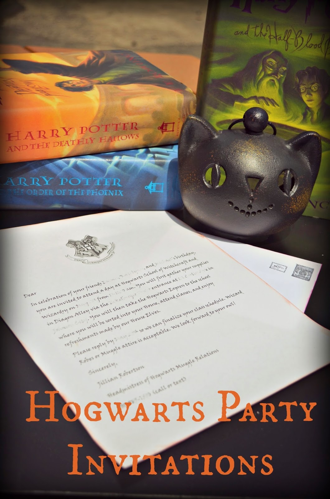 Harry Potter Hogwarts Party Invitations! #harrypotter #hp #hogwarts #party