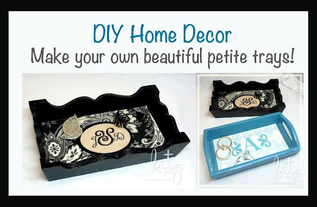 DIY tray makeover