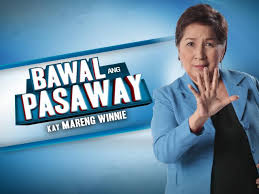 "Bawal Ang Pasaway kay Mareng Winnie is a commentary TV show on GMA News TV hosted by famous economist and professor Solita ""Winnie"" Monsod. Bawal ang Pasaway kay Mareng Winnie..."