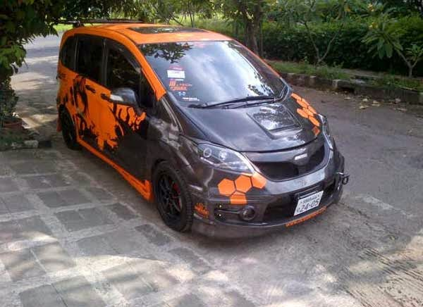 modifikasi mobil honda freed