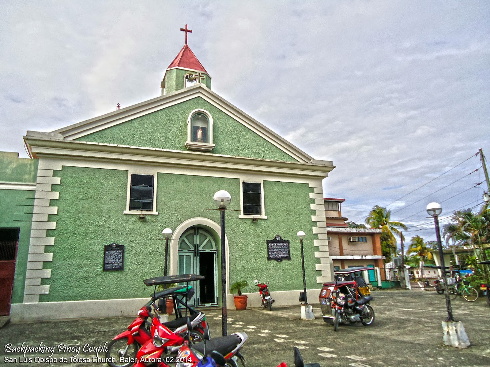 Baler, Backpacking Pinoy Couple, Philippines, It's More Fun in the Philippines, philippine travels, backpacking, backpacking philippines, how to go to aurora, how to go to baler, North Luzon, san luis obispo de tolosa church, baler church, siege of baler