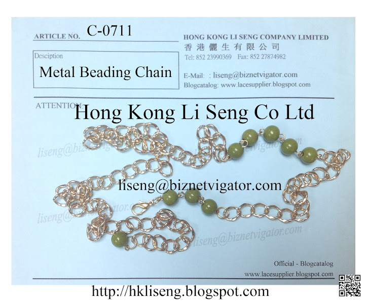 Metal Beading Chain Supplier - Hong Kong Li Seng Co Ltd