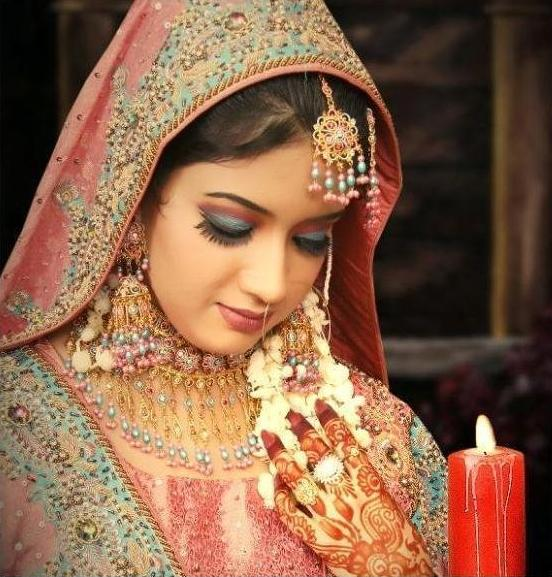 Indian bridal makeup images Indian Wedding Hair Style