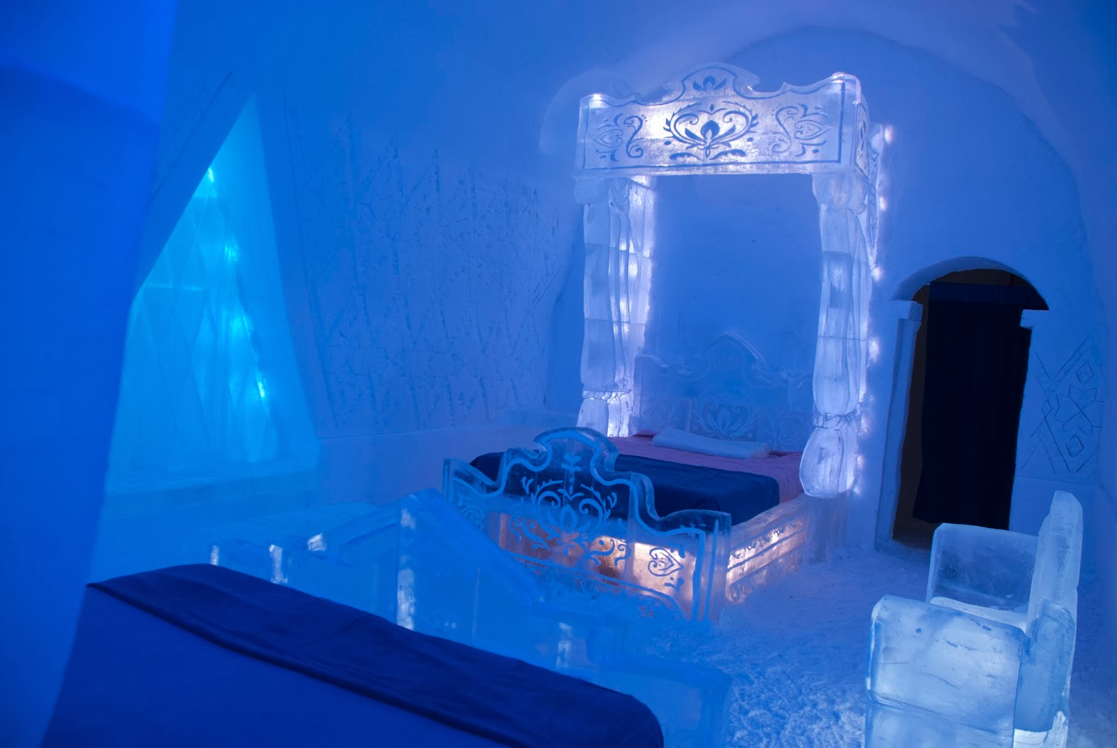 Frozen inspired bedroom - Disney Unveils Frozen Inspired Suite At Quebec City S Famed Ice Hotel Photos