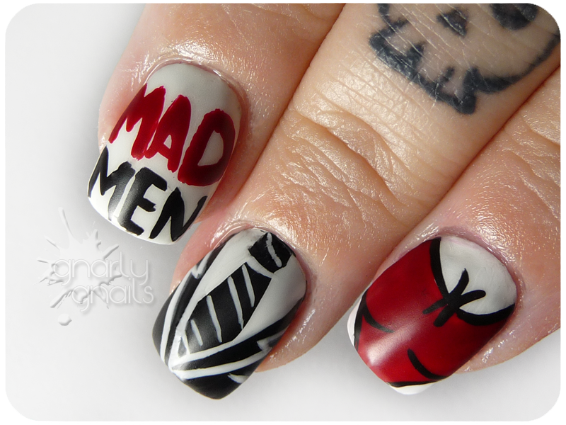 Mad Men-icure - Gnarly Gnails