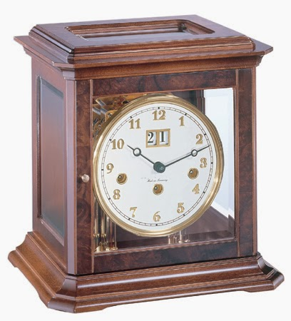 Made in Germany   Hermle Boston Mechanical Key-wound Mantel Clock