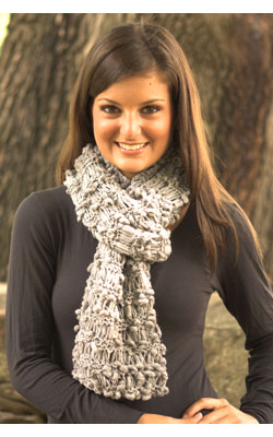 Easy Garter Stitch Scarf Knitting Pattern
