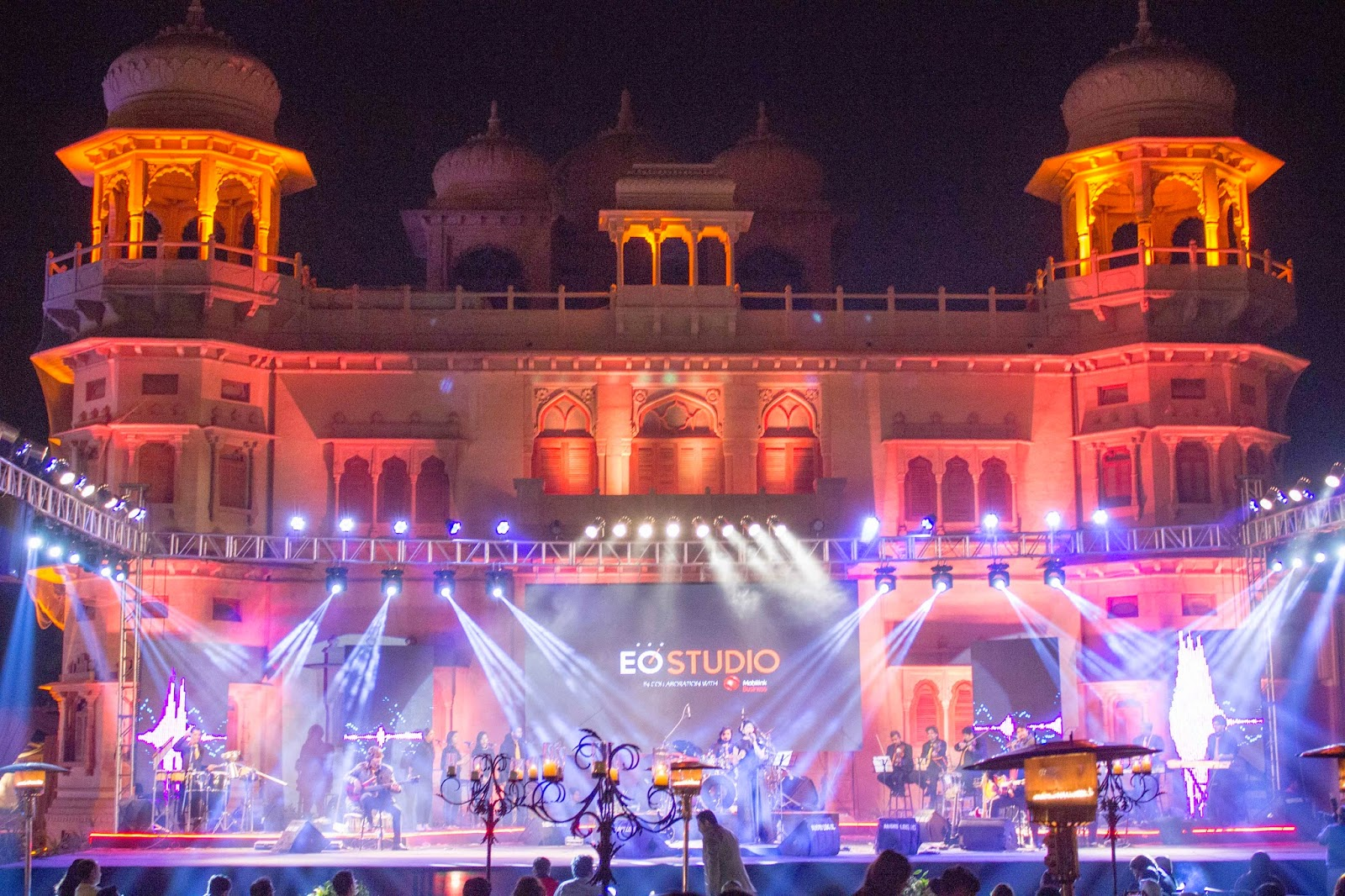 EO studio mohatta palace concert