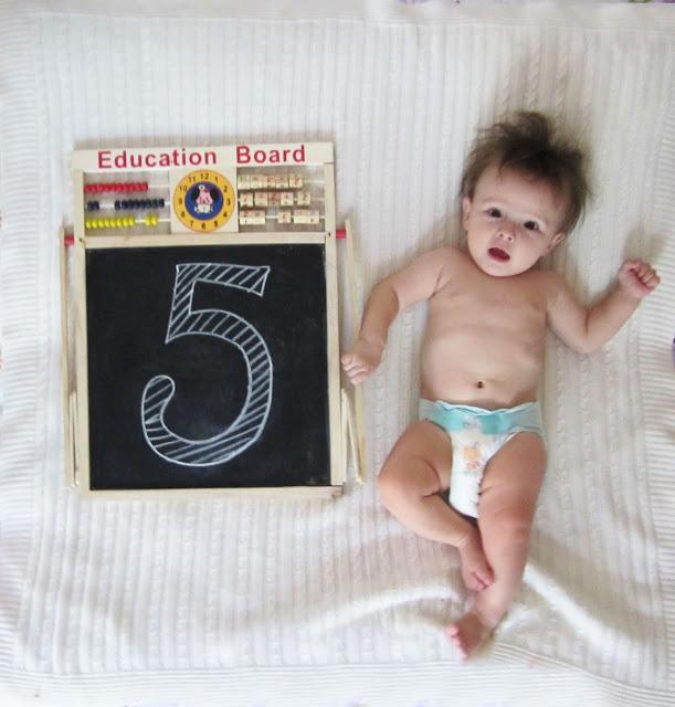 Стефании 5 месяцев