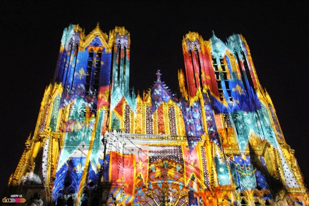 Reims Cathedrale Lumiere Reims Son Lumière Rêve de