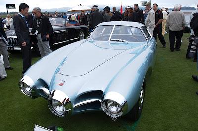 Abarth Fiat Bertone 1500 Biposto B.A.T. 1 (1952) Coche Car