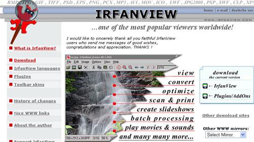 Aplikasi IrfanView Untuk Edit Foto