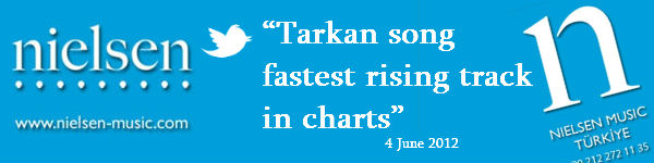 Nielsen Music says Tarkan track fastest rising