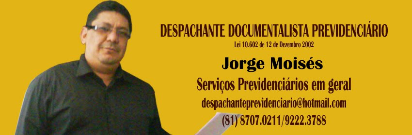 DESPACHANTE DOCUMENTALISTA PREVIDENCIÁRIO