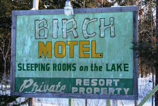 Birch Lodge Former Sign
