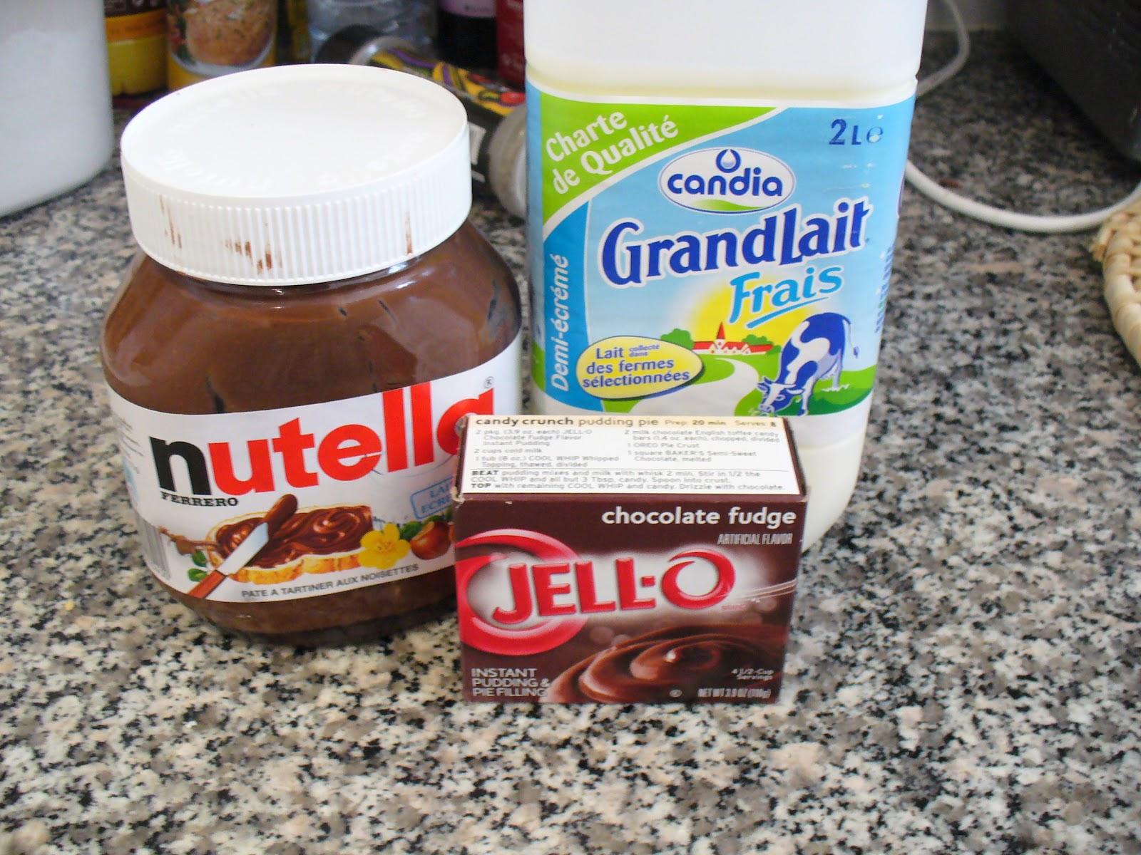 Recipe Shoebox: Nutella Pudding Pops
