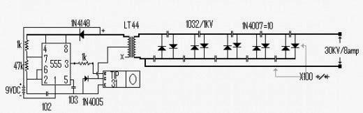 Miraculous Taser Schematics Basic Electronics Wiring Diagram Wiring Database Pengheclesi4X4Andersnl