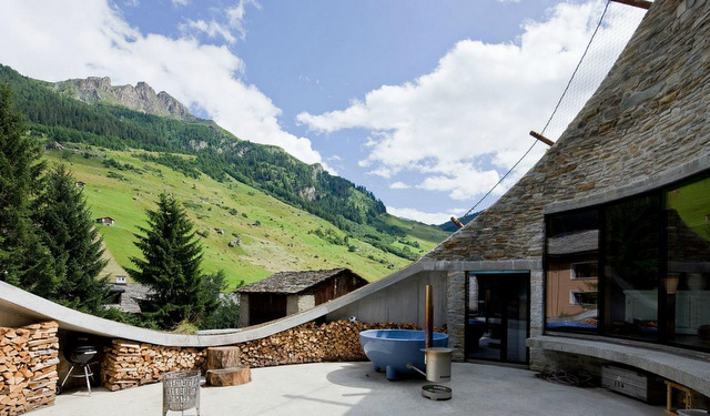 Villa Vals Suiça